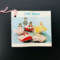 Vintage Madame Alexander Little Women Doll Hang tag Only 1982 VTG Collector Toy