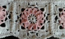 Handmade Girls' Cot Crochet Nursery Blankets & Throws