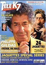 Mag TELE K7 1997: PHILIPPE GILDAS_MICHAEL JACKSON_LINDA FIORENTINO_TEA LEONI