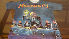 MEGADETH Rust in Peace / T-Shirt / 100% Polyester /Full Print / S, M, L, XL, XXL
