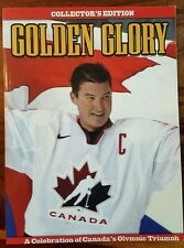 Collector's edition of golden glory, team canada 2002 olympic triumph