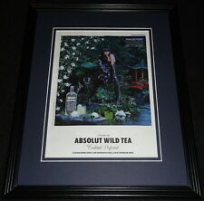 2011 Absolut Wild Tea 11x14 Framed ORIGINAL Vintage Advertisement