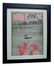 BIRTHDAY+WEDDING+WEEK BORN+ORIGINAL NME MUSIC MAGAZINE+FRAMED+FAST GLOBAL SHIP
