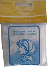 Regenhaube Regenschutz Haarschutz Frisur Schutz Haare Nässeschutz Kopfbedeckung