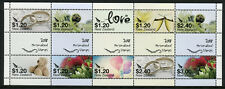 New Zealand NZ 2018 MNH Personalised Stamps 10v M/S Flowers Teddy Bears Stamps