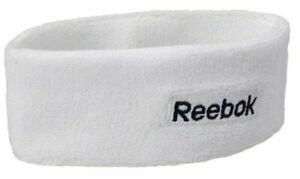 Reebok Unisex Headband White  One Size