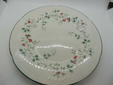 Pfaltzgraff Dinnerware Winterberry 15th Anniversary Dinner Plate 10 1/4""