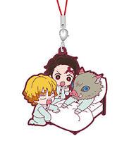Bandai Anime Demon Slayer Kimetsu no Yaiba 3 Phone Strap Figure Tanjiro