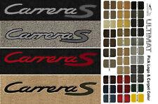 Lloyd Mats Porsche Carrera S Front Carrera Logo Floor Mats