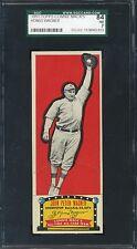 1951 Topps Connie Mack's All-Stars - Honus Wagner - SGC 84 NM