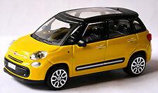 Fiat 500 L Minivan SUV 2012-17 gelb yellow 1:43