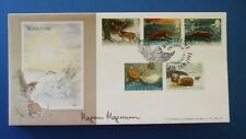 A G BRADBURY 1992 WINTERTIME FIRST DAY COVER SIGNED BY MAGNUS MAGNUSSON