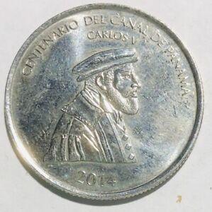 2014 Panama medio balboa 1/2 balboa