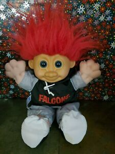 TROLL  DOLL Atlanta NFL  Dressed  9 inch Oakland NJ