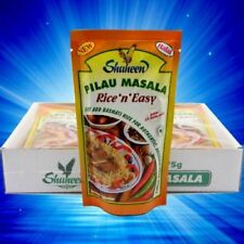 175g Shaheen Pilau Masala Paste x 6 , Can be use to make Pilau Rice Dishes