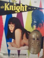 Siir Knight Magazine, 1958 Volume 1 Number 1 First Issue