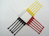 AVIS BOOMS MADE IN UK White Yellow Red Black - Bulk Offer! Sea Fishing Rigs