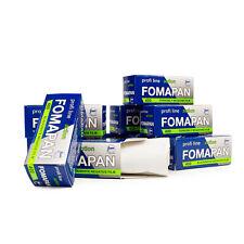 10x Fomapan 400 Action Roll Film 120 S/W B/W B/W Film Black White 06/202