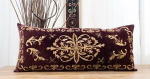 """Bindalli Pillow Cover Lumbar Pillow 14.76"""" x 34.84"""" OLD FAST Shipment UPS 12085"""