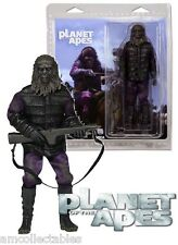 "NECA Classic - Planet of The Apes - Clothed 8 "" Gorilla Soldier Figurine - New /"