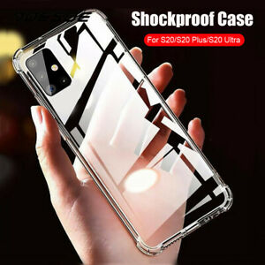 Shockproof Soft TPU Silicone Case Cover For Smsung Galaxy S20 Plus Ultra A51 A71