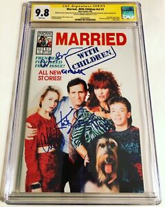 CGC 9.8 SS Married...With Children v2 #1 signed O'Neill, Sagal, Applegate +2
