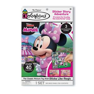 Disney Junior Minnie Mouse Colorform Playset