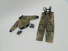 """1/6 Scale Hunting Clothes Set Jacket Jumpsuit & Gloves For 12"""" Action Figures"""