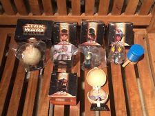 Toys vintage 1900's- Star Wars episode 1 toys lot of 5 (globes & action figures)