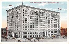 Pennsylvania postcard Philadelphia The Wanamaker Store, department, street scene