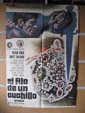 A665 EL FILO DE UN CUCHILLO. PETER FALK, BRITT EKLAND