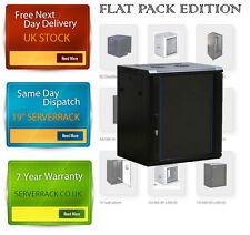Paquete plano Gabinete De Pared De Datos 4U profundidad 450mm servidor en rack de 19 Pulgadas de servidor 25cm H