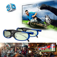 2x Active Shutter 3D Glasses for DLP Projector Virtual Reality Comfortable USB