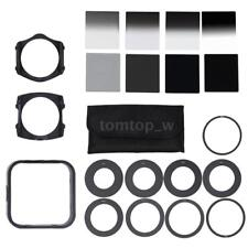 Graduated Filter Kit ND2 4 8 16+Ring Adapter Set for Cokin P series DSLR Camera