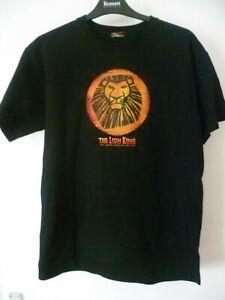Lion King unisex black T-shirt, size L, good condition