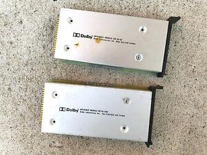 dolby laboratories interface module cat 44 + 44h noise reduction rare vintage