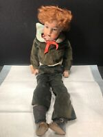 HAND PAINTED PORCELAIN DOLL  BY COLETTE VALKENET
