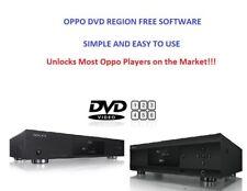 Oppo 203, 205, 103(D), 105(D) DVD Region Free