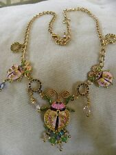"""Lunch at the Ritz 2Go """"LEADING LADY"""" Lady Bug Necklace   18""""-20"""" MSRP 139.00"""