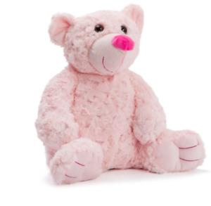 ROSETTE l Soft Pink Teddy Bear Soft Cuddly I 32cm I Birthday Present I Nursery