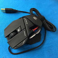 Mad Catz Cyborg R.A.T. RAT 3 Gaming Optical Mouse 3500 dpi Black for PC & Mac