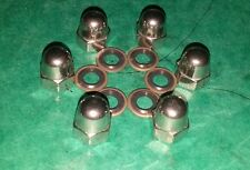 VW Aircooled Volkswagen Oil Sump Plate Leak Resistant Seal Washers Dome Nuts Bus