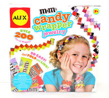 New ListingAlex M&M'S Candy Wrapper Jewelry Maker Upcycle New Craft Kids