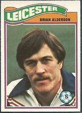 TOPPS 1978 FOOTBALLERS #273-LEICESTER CITY-BRIAN ALDERSON