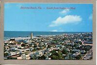 Postcard FL Daytona Beach from Seabreeze Blvd Aerial View Shoreline  c1950s -210