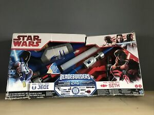 Hasbro Star Wars Bladebuilders Path Of The Force Lightsaber 2 In 1 Jedi Sith Toy