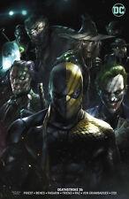 Deathstroke 36 B DC 2018 NM Francesco Mattina Variant Joker Two-Face Batman