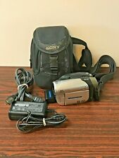 Sony Handycam Video Camera Recorder DCR-DVD103 NTSC  W/Charger Battery Case
