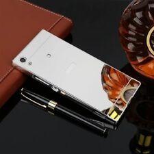 Pare-chocs en aluminium 2 pièces Couverture en argent pour Sony Xperia XA1 g3112