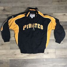 Pittsburgh Pirates Majectic MLB Full-Zip Wiindbreaker Jacket Boys Sz M